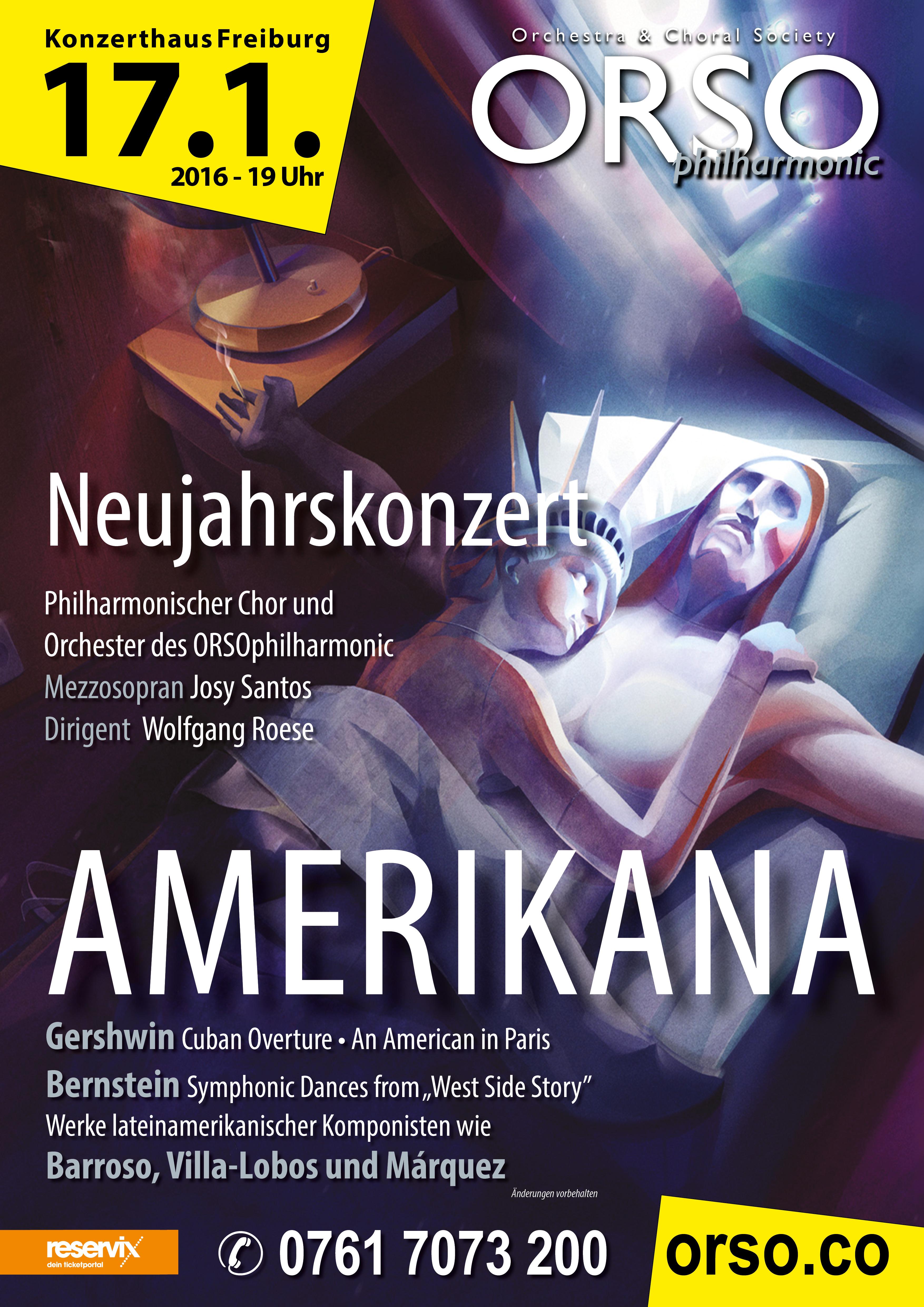 1601 AMERIKANA Plakatmotiv